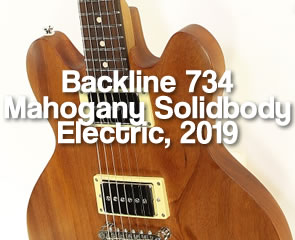 Backline 734 Mahogany